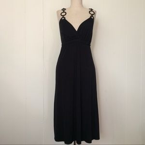 Ella Moss Black midi Dress